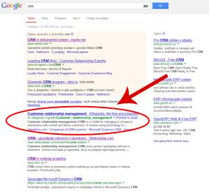 Optimizacija spletne trgovine za iskalnike